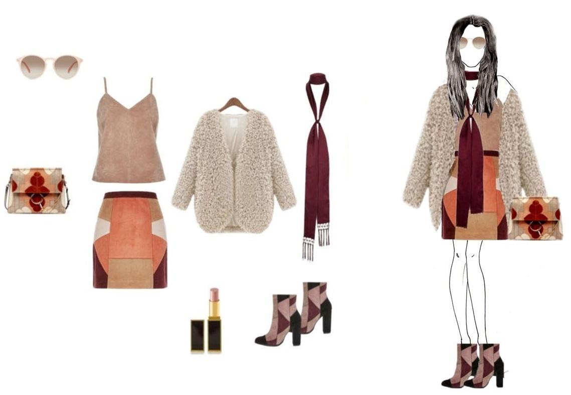 chloe handbags online - STYLJANJE - Patchwork outfit ideas